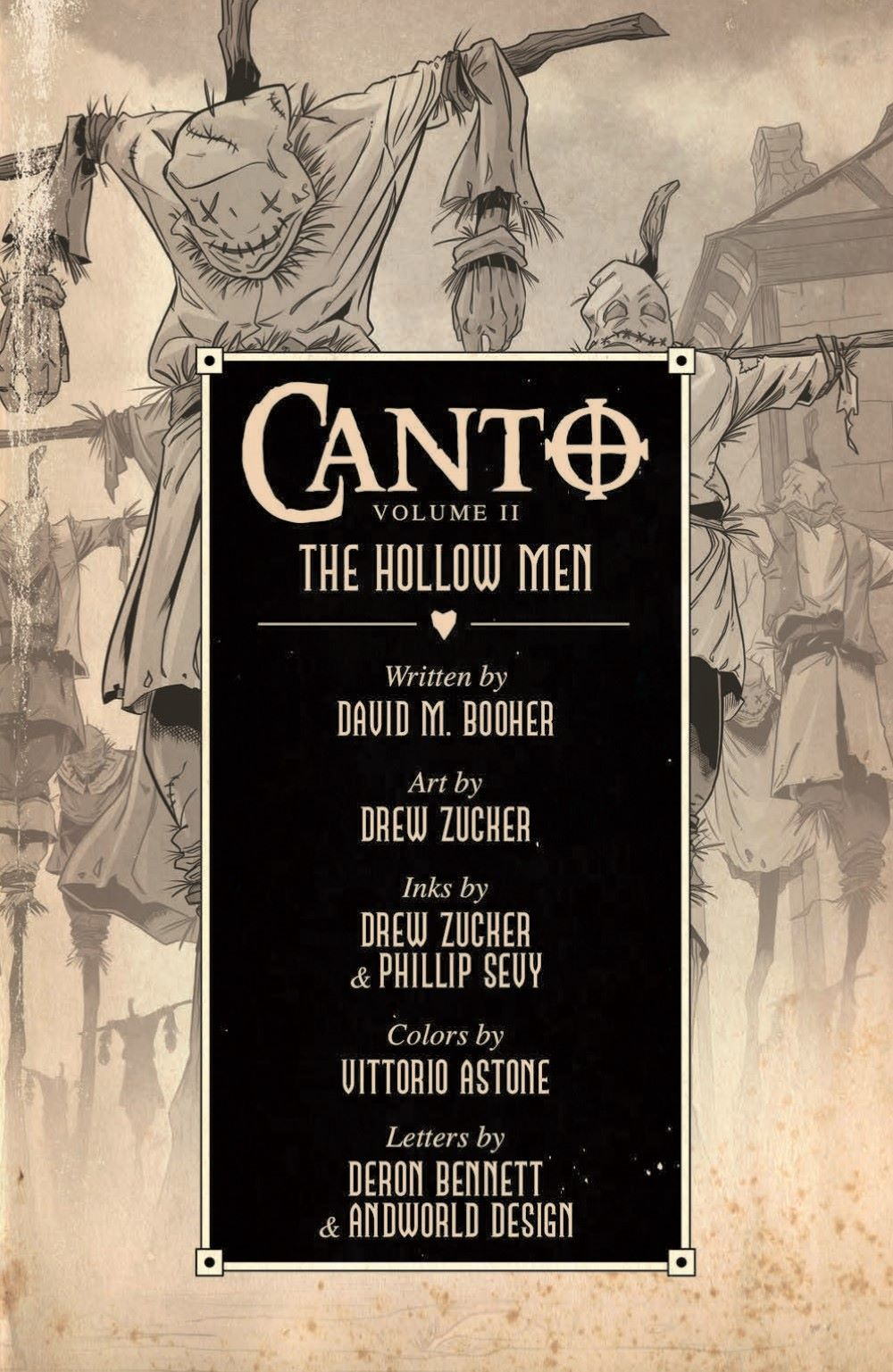 CANTOTPB02_pr-3 ComicList Previews: CANTO II THE HOLLOW MEN TP