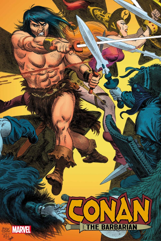 CONANBARB2019025_Toth_var Marvel Comics September 2021 Solicitations