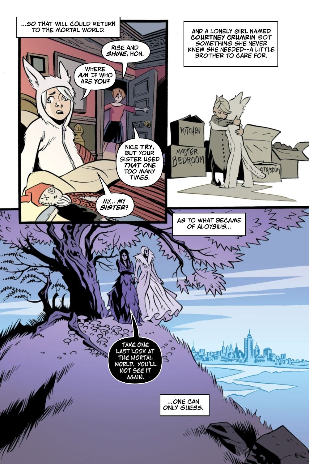 CRUMCHRON-V1-REFERENCE-011 ComicList Previews: THE CRUMRIN CHRONICLES VOLUME 1 THE CHARMED AND THE CURSED TP