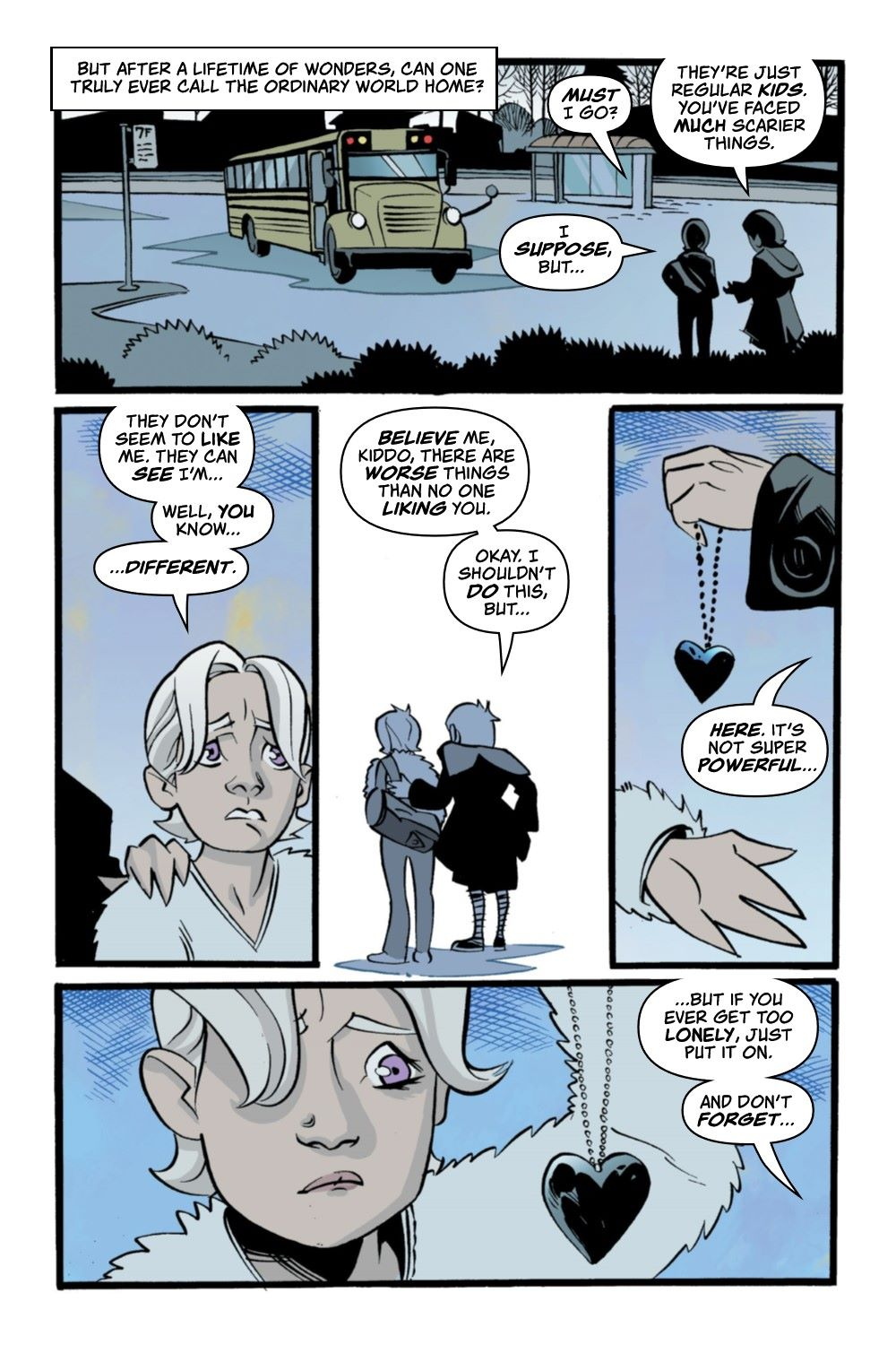 CRUMCHRON-V1-REFERENCE-012 ComicList Previews: THE CRUMRIN CHRONICLES VOLUME 1 THE CHARMED AND THE CURSED TP