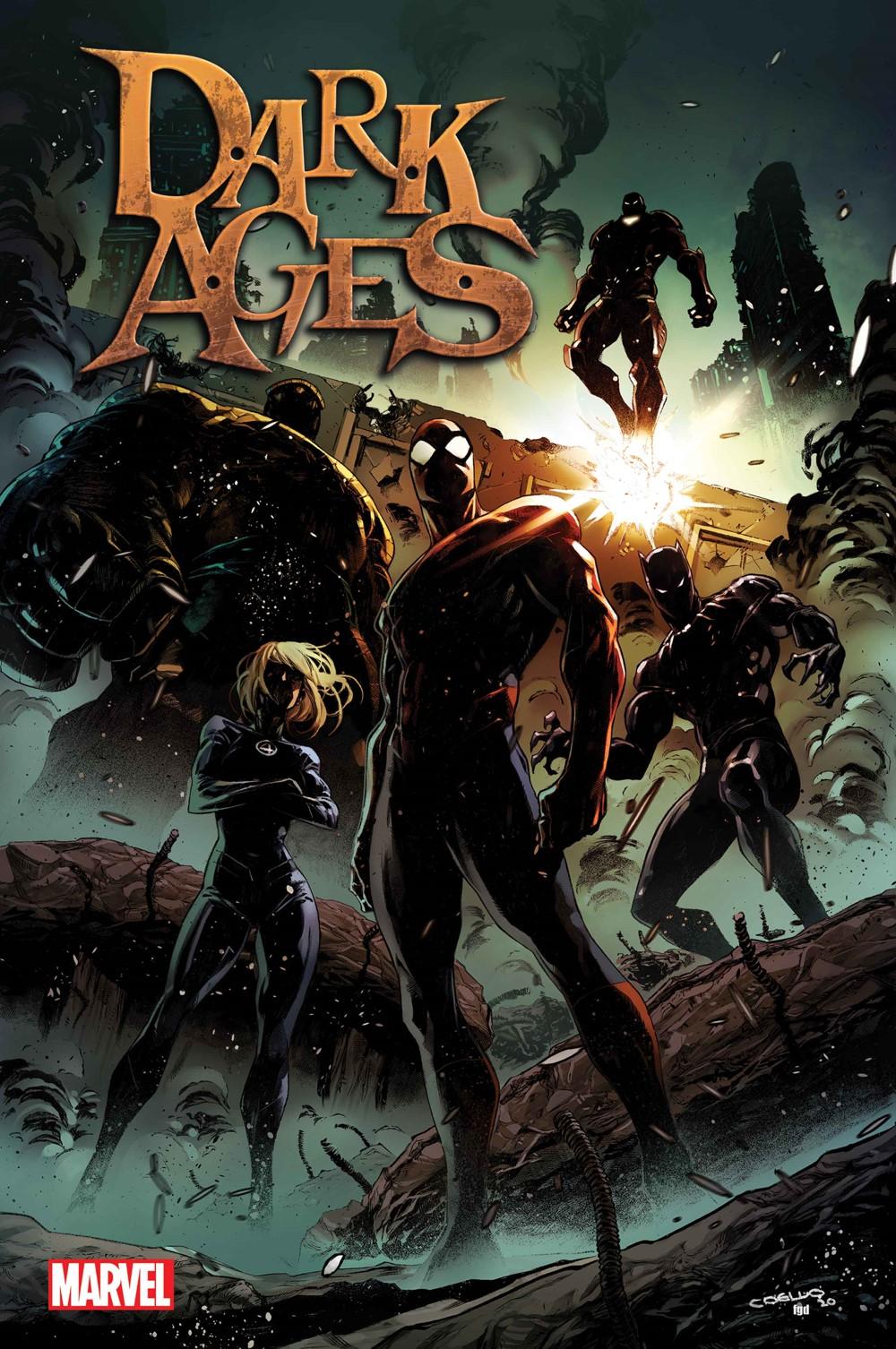 DARKAGES2021001_Cov-1 Marvel Comics September 2021 Solicitations