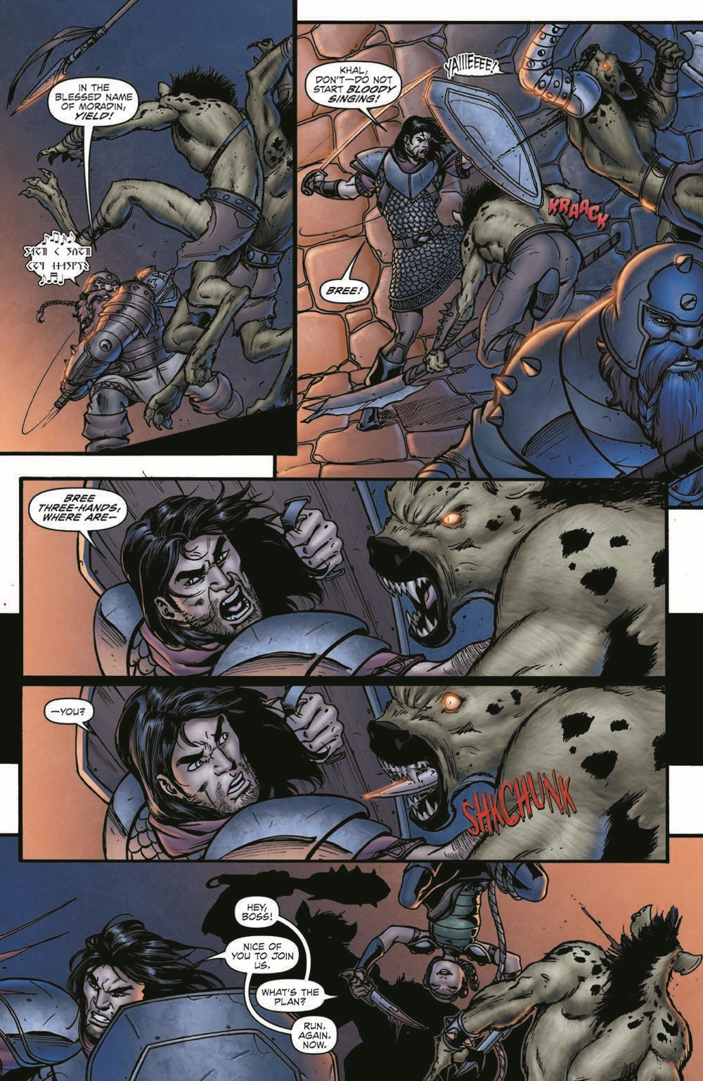 DD_FellsFive_TPB_pr-4 ComicList Previews: DUNGEONS AND DRAGONS FELL'S FIVE TP
