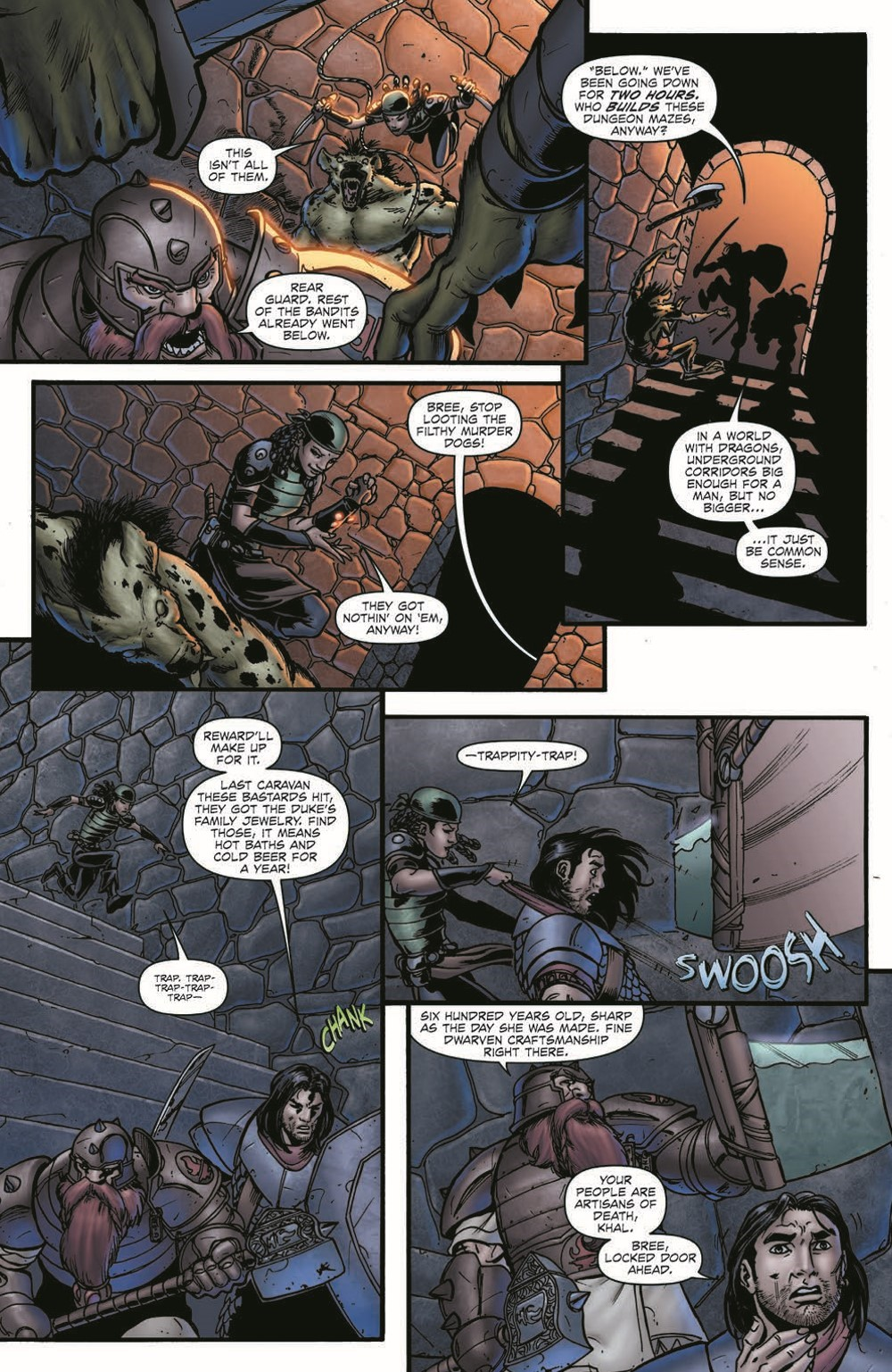 DD_FellsFive_TPB_pr-5 ComicList Previews: DUNGEONS AND DRAGONS FELL'S FIVE TP