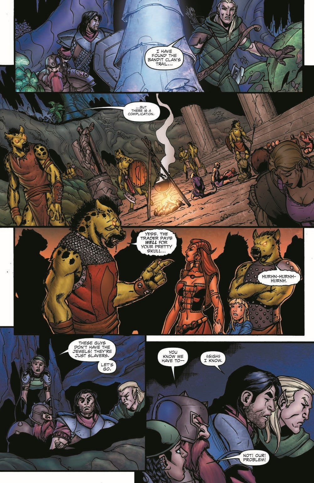 DD_FellsFive_TPB_pr-7 ComicList Previews: DUNGEONS AND DRAGONS FELL'S FIVE TP