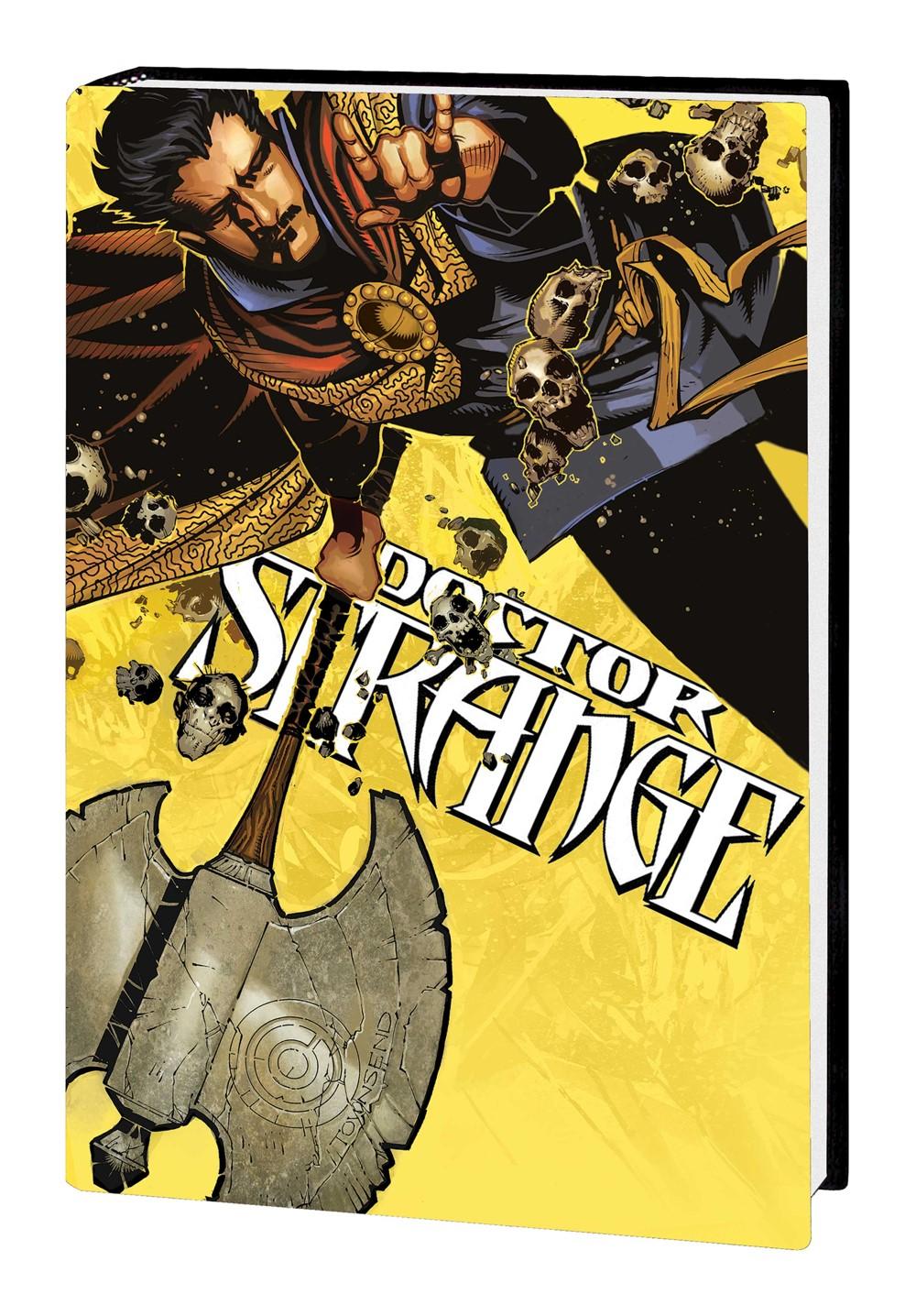 DRSTRANGE_OMNI_HC_BACHALO Marvel Comics September 2021 Solicitations