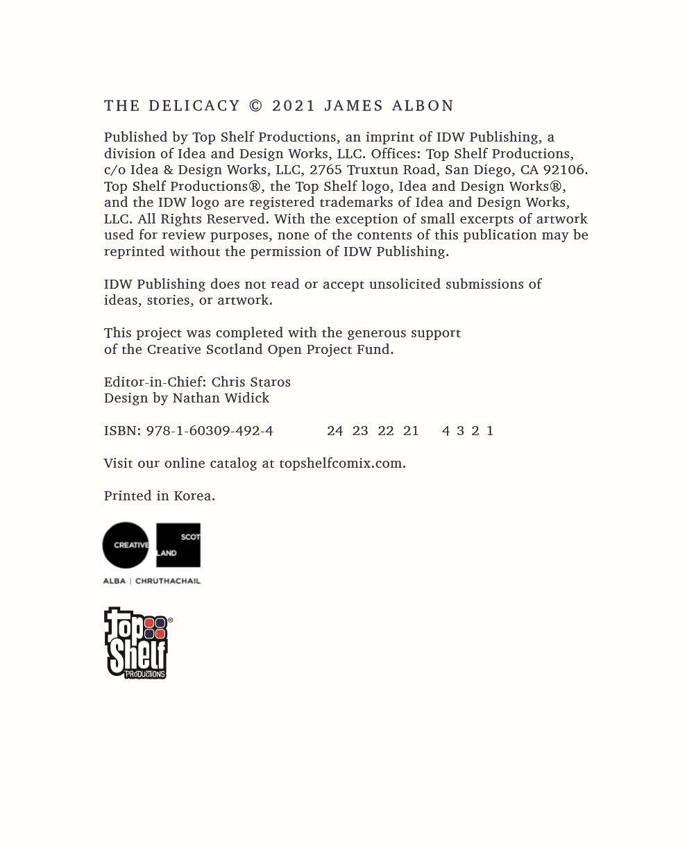 Delicacy_pr-2 ComicList Previews: THE DELICACY GN