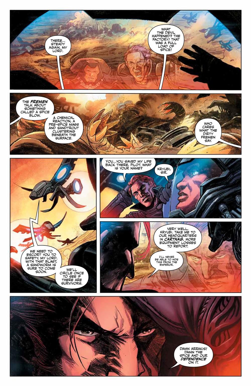 Dune_HouseAtreides_v1_HC_PRESS_12 ComicList Previews: DUNE HOUSE ATREIDES VOLUME 1 HC