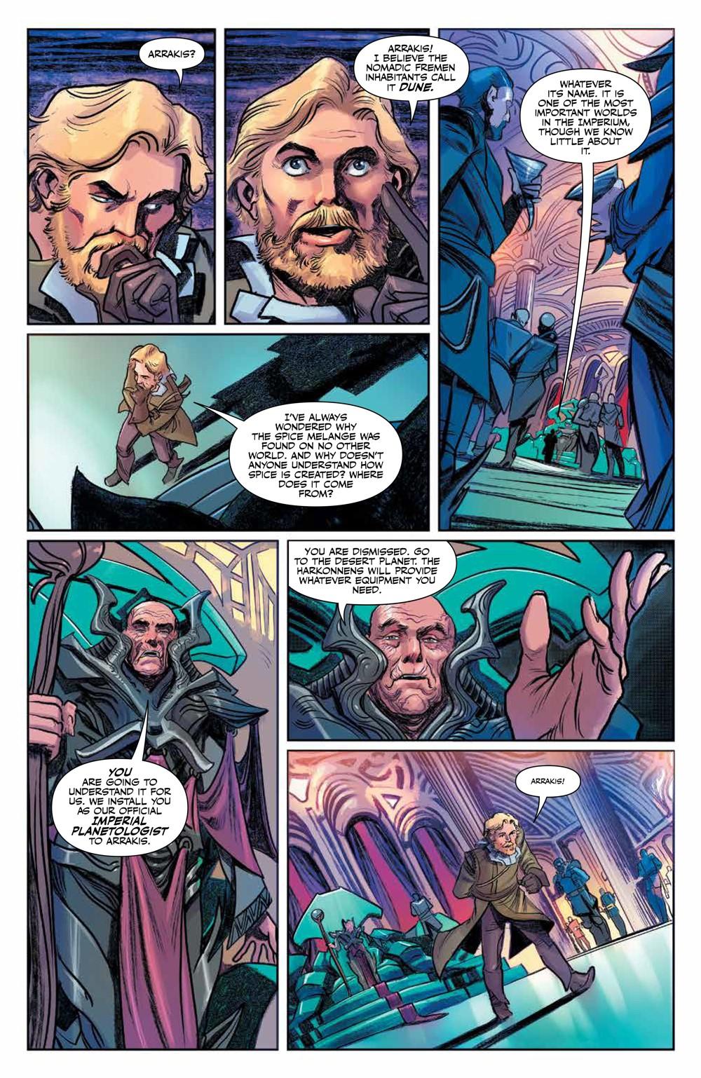 Dune_HouseAtreides_v1_HC_PRESS_16 ComicList Previews: DUNE HOUSE ATREIDES VOLUME 1 HC