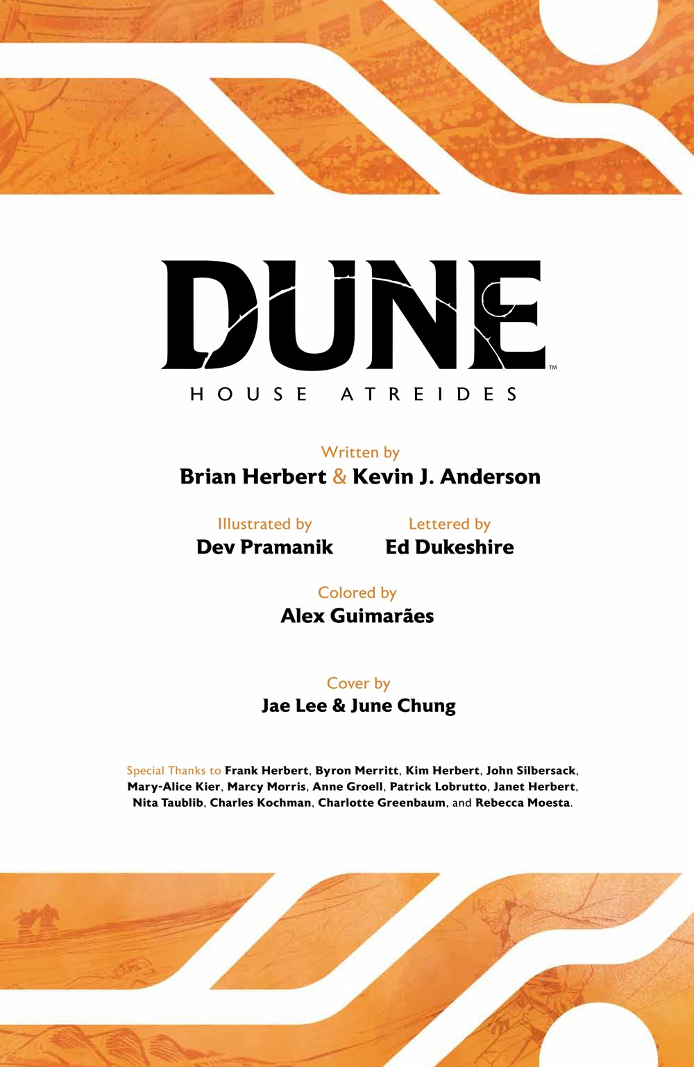 Dune_HouseAtreides_v1_HC_PRESS_5 ComicList Previews: DUNE HOUSE ATREIDES VOLUME 1 HC