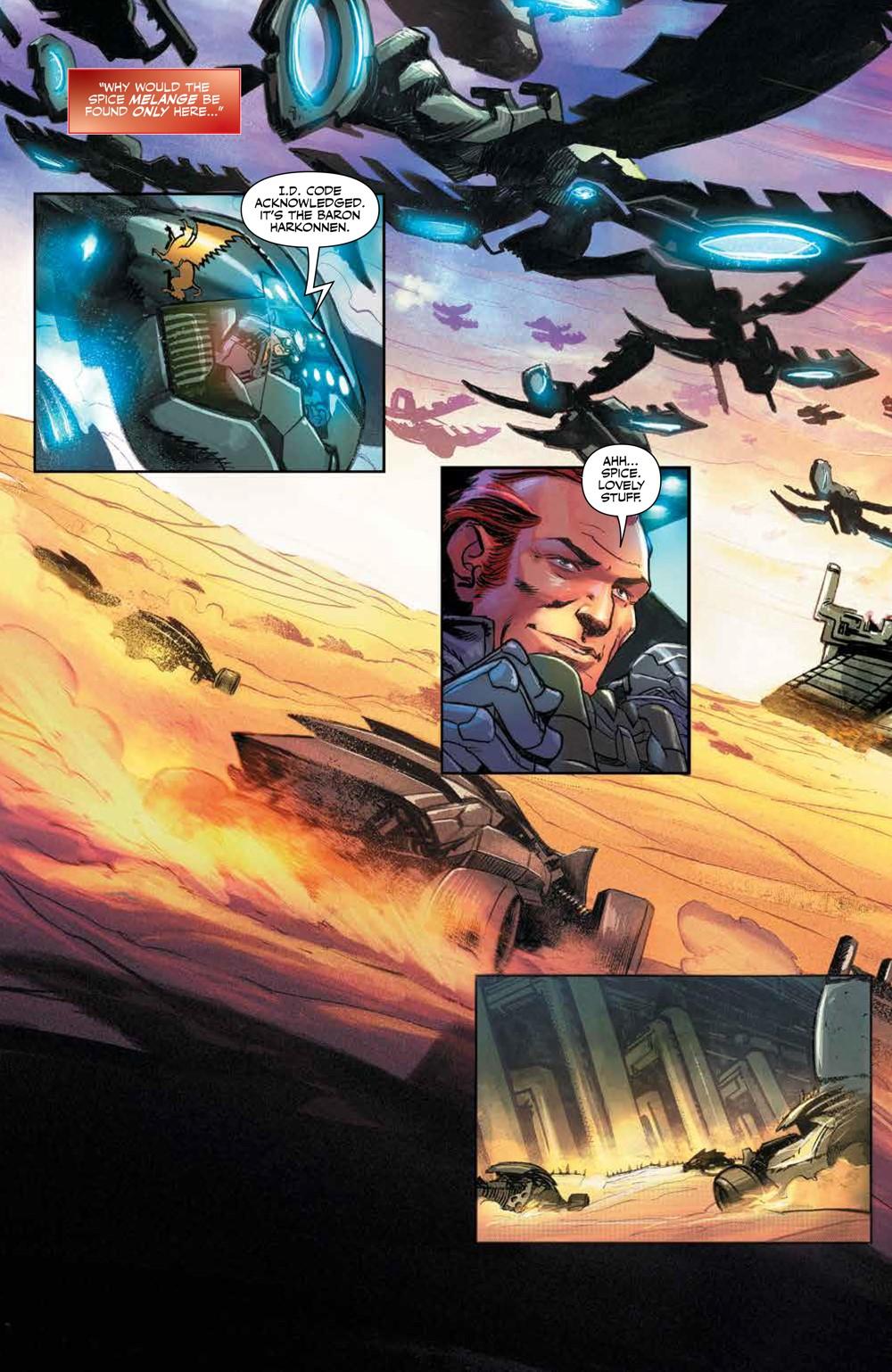 Dune_HouseAtreides_v1_HC_PRESS_8 ComicList Previews: DUNE HOUSE ATREIDES VOLUME 1 HC
