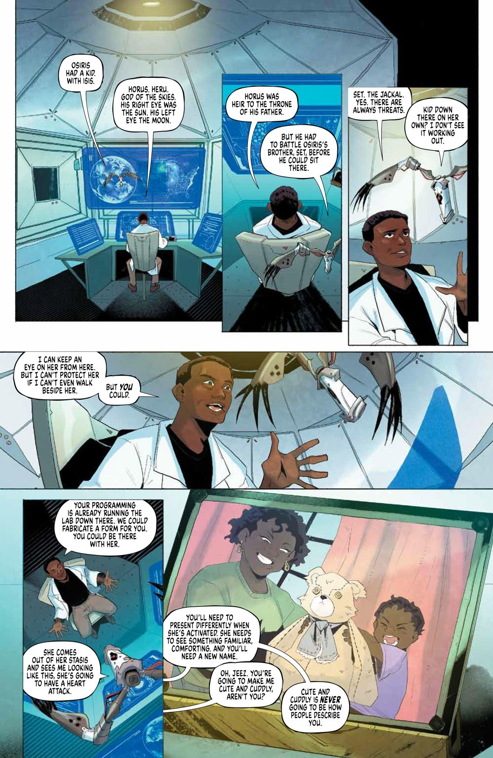 Eve_002_PRESS_7-1 ComicList Previews: EVE #2 (OF 5)