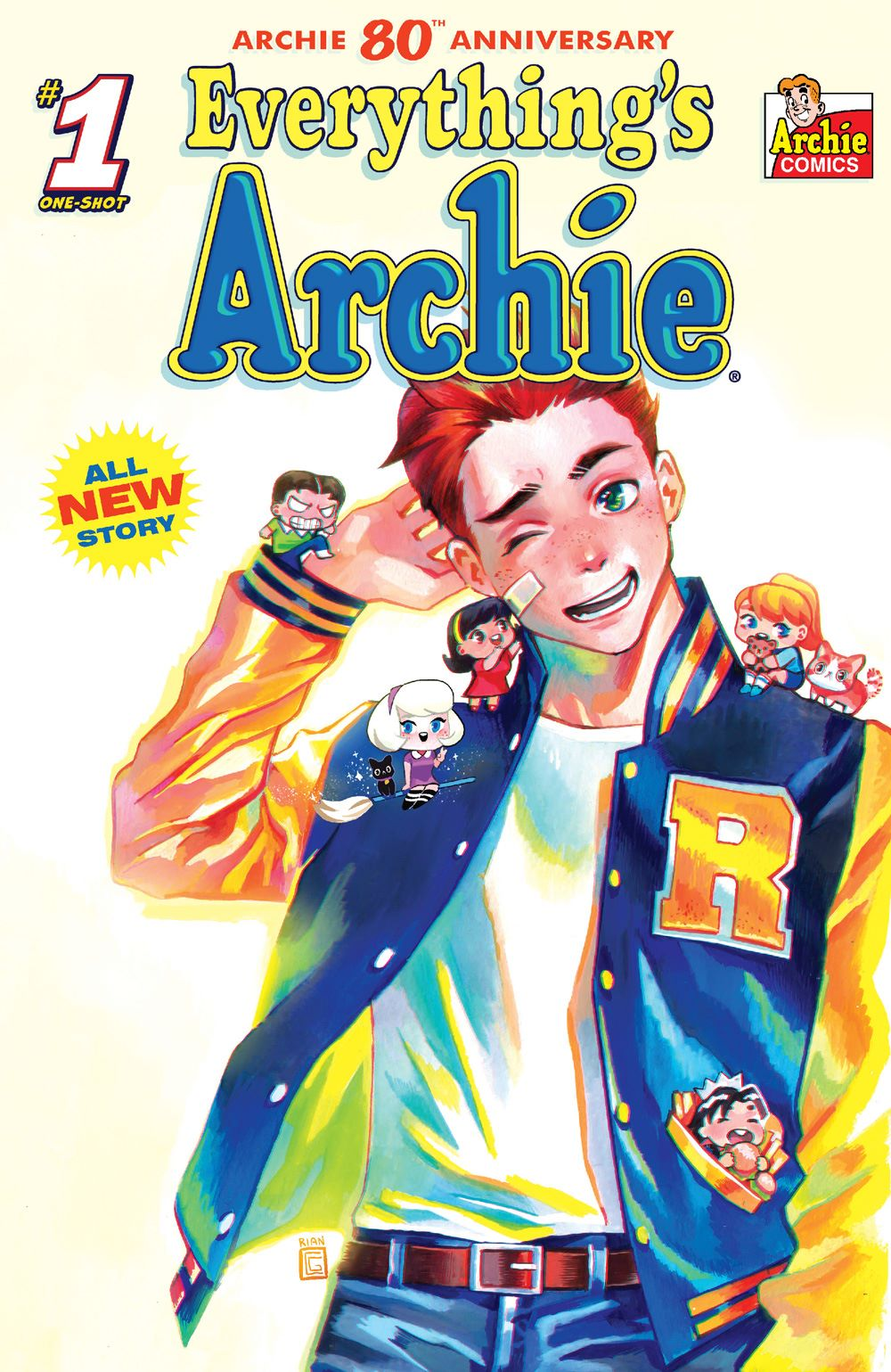 EverythingsArchie_01_CoverC_Gonzales ComicList Previews: ARCHIE 80TH ANNIVERSARY EVERYTHING'S ARCHIE #1