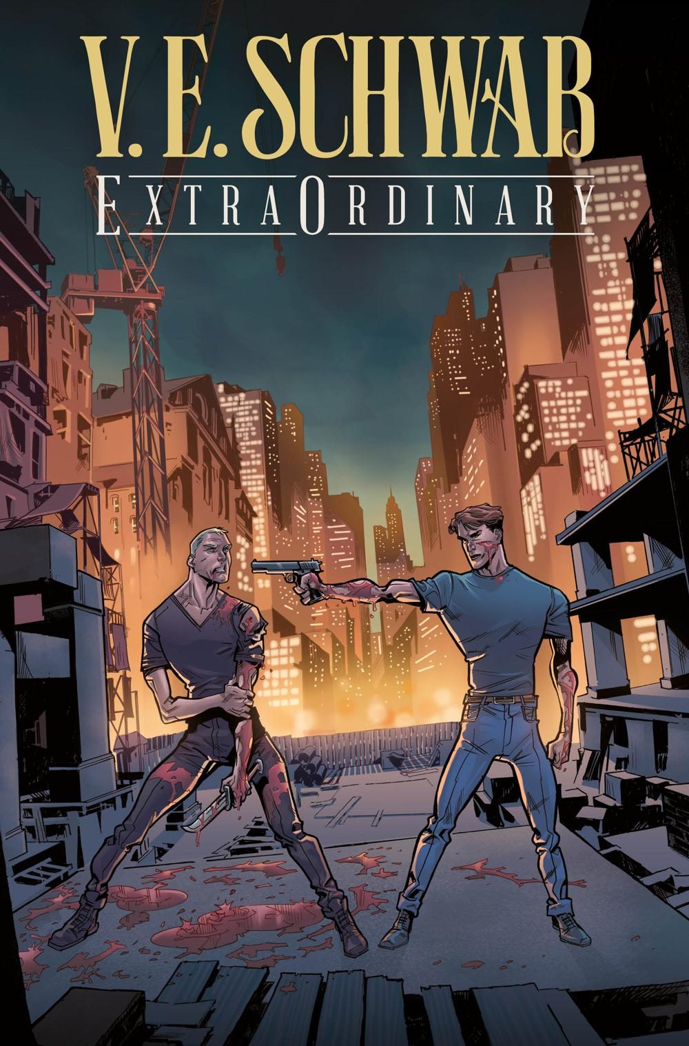 ExtraOrdinary1__Collectors-Pack-Exclusive ComicList Previews: EXTRAORDINARY #1