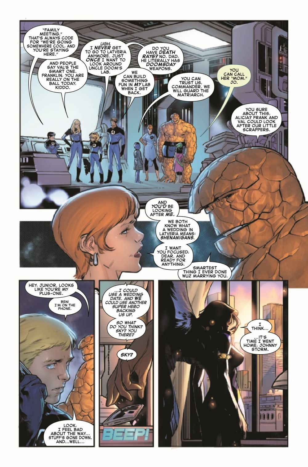 FF2018033_Preview-6 ComicList Previews: FANTASTIC FOUR #33