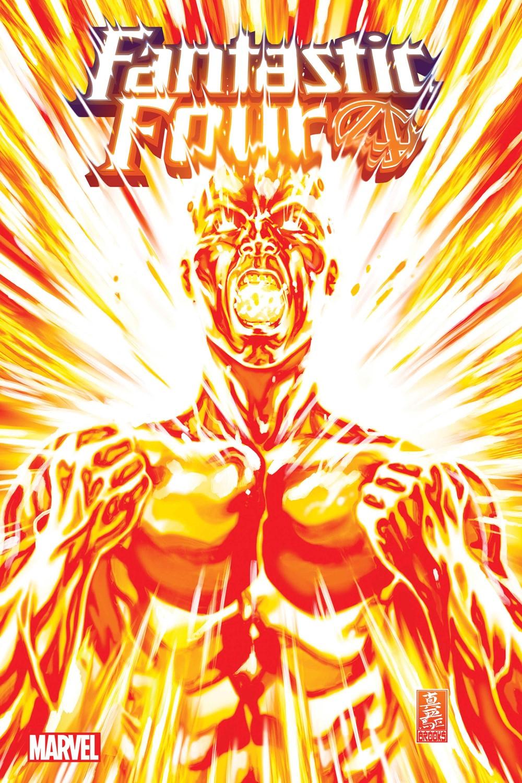 FF36cover Marvel Comics September 2021 Solicitations