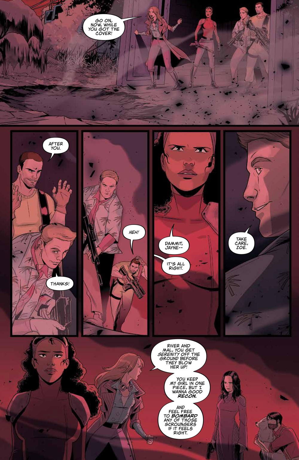 Firefly_030_PRESS_7 ComicList Previews: FIREFLY #30