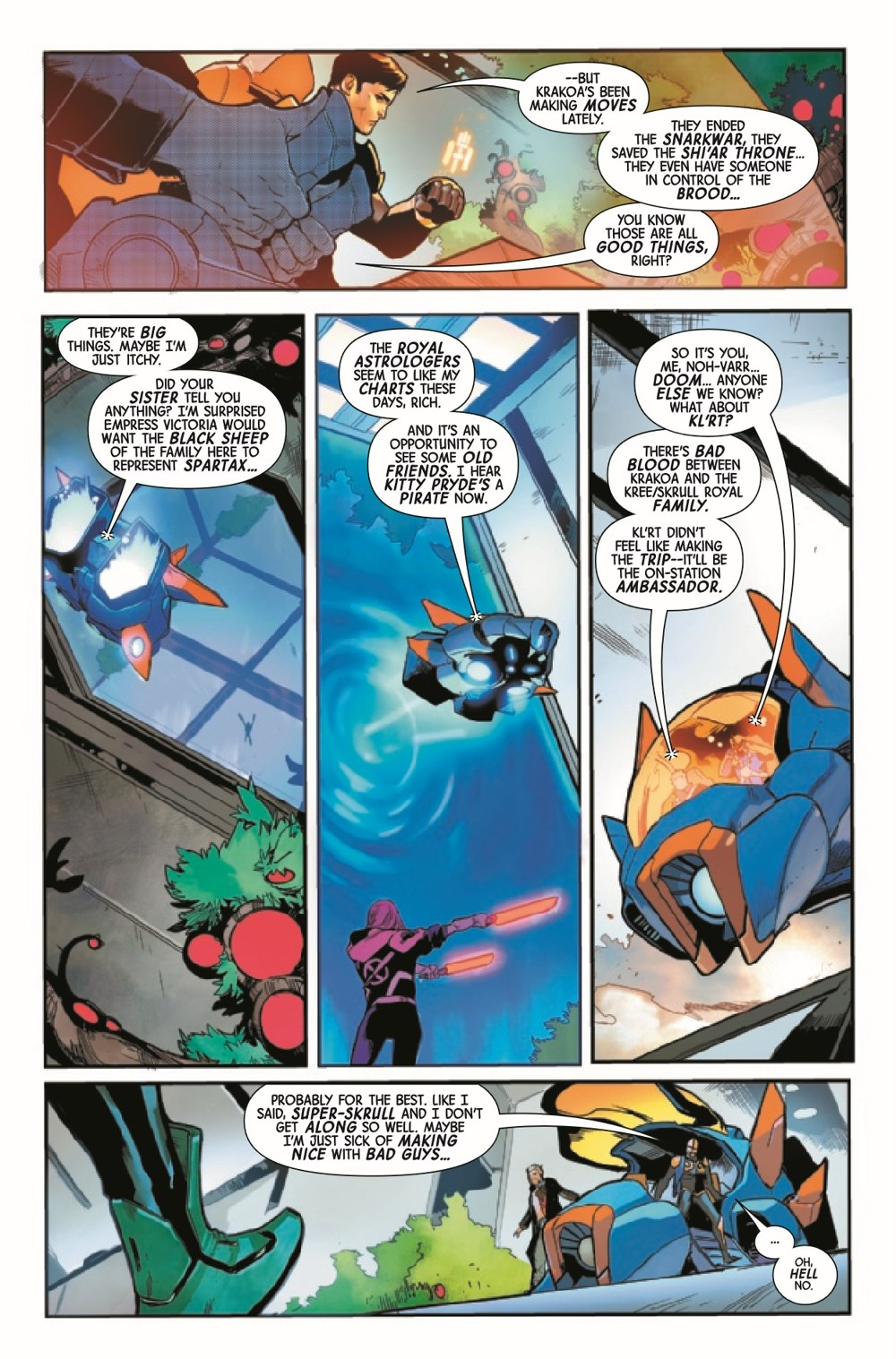 GARGAL2020015_Preview-4 ComicList Previews: GUARDIANS OF THE GALAXY #15