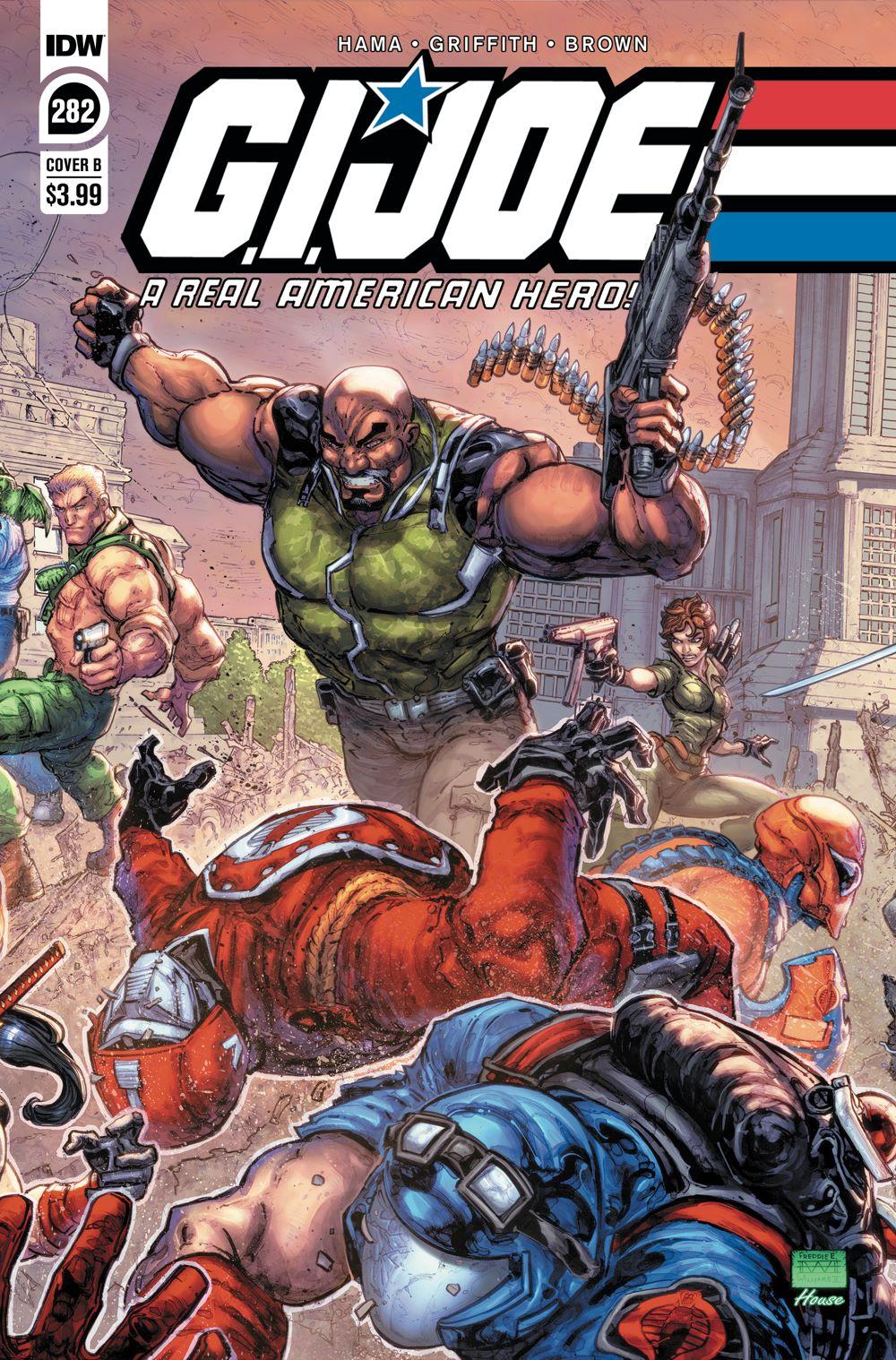 GIJoeRAH282-coverB ComicList Previews: G.I. JOE A REAL AMERICAN HERO #282