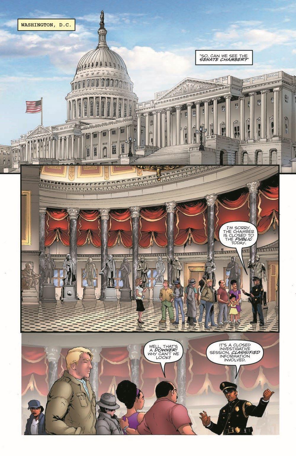GIJoeRAH282-pr-3 ComicList Previews: G.I. JOE A REAL AMERICAN HERO #282