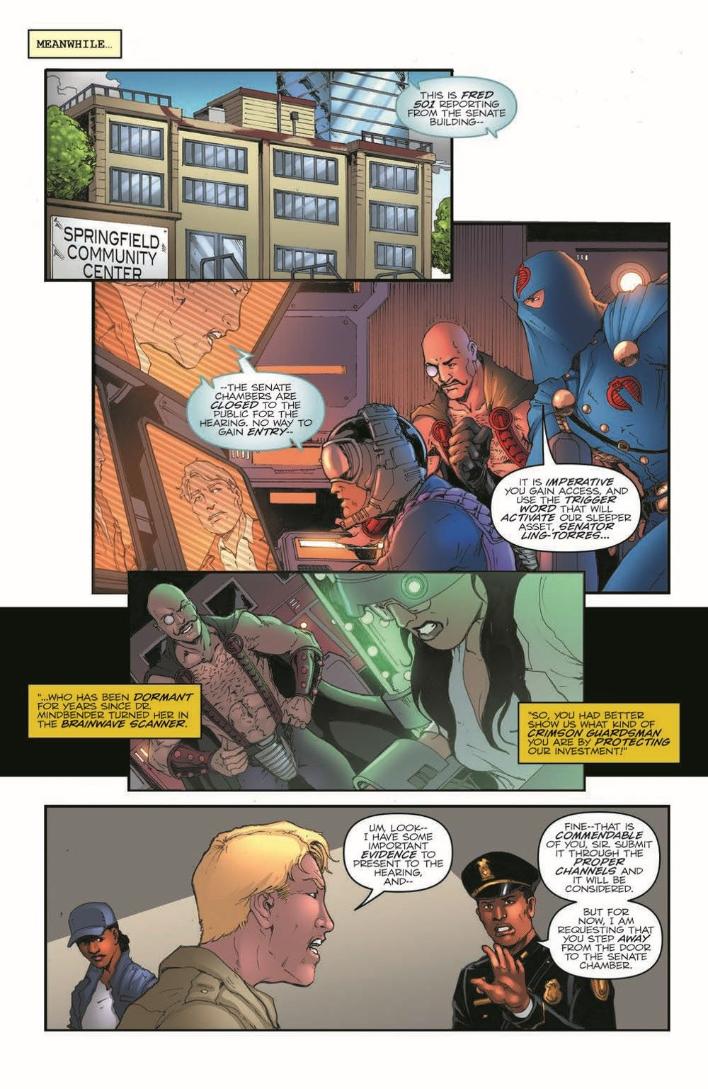 GIJoeRAH282-pr-6 ComicList Previews: G.I. JOE A REAL AMERICAN HERO #282