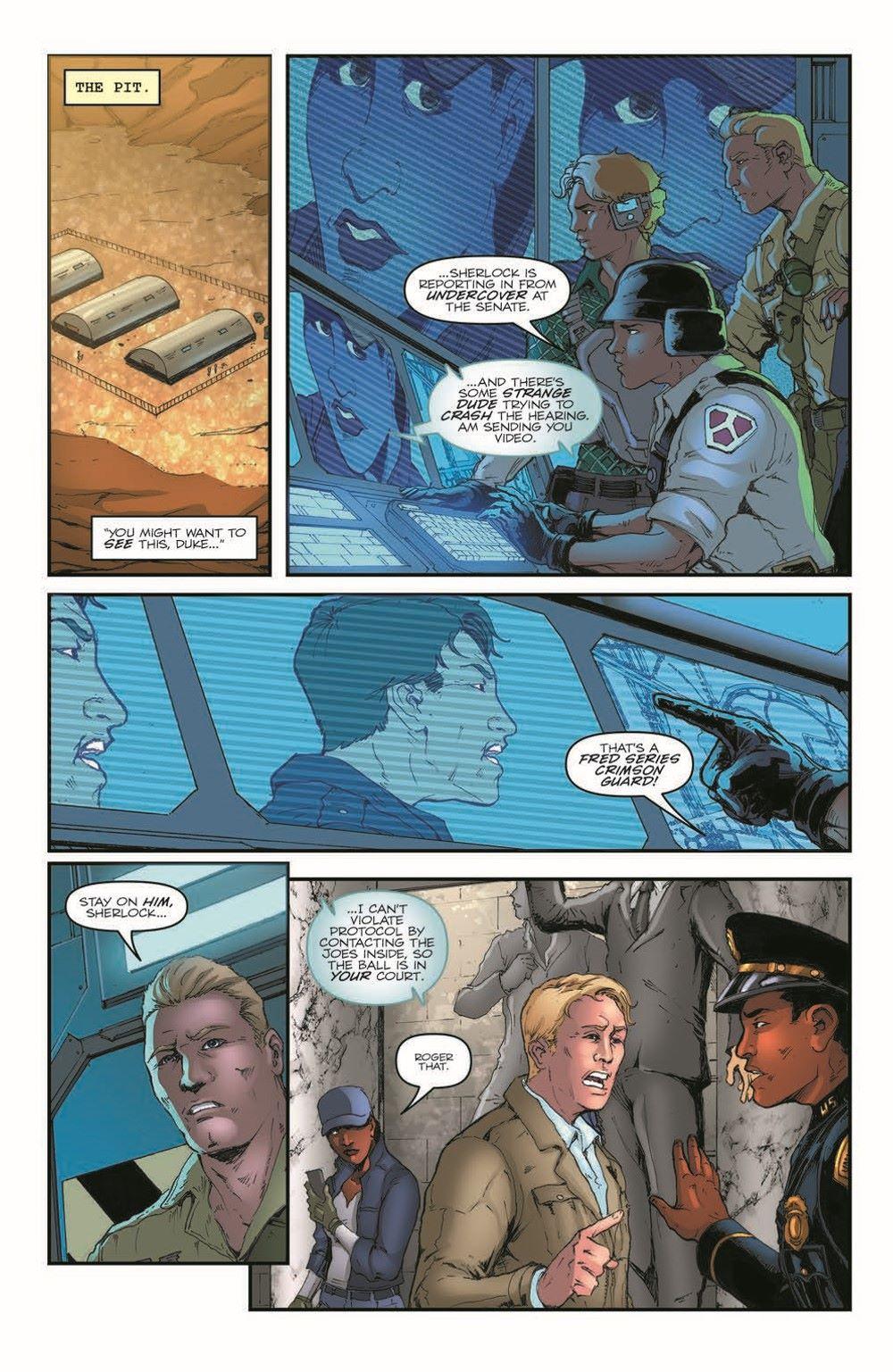 GIJoeRAH282-pr-7 ComicList Previews: G.I. JOE A REAL AMERICAN HERO #282