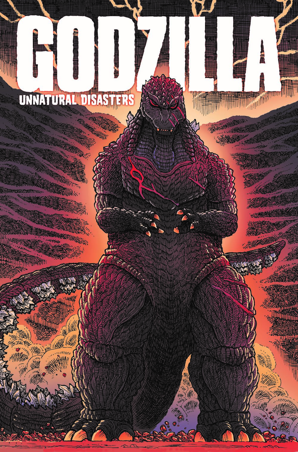 Godzilla-UD_cvr ComicList: IDW Publishing New Releases for 06/09/2021