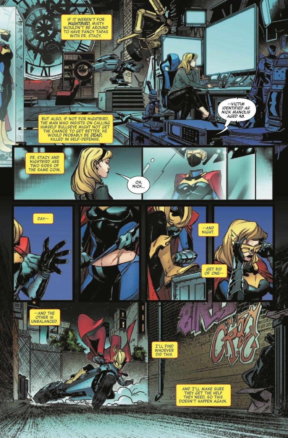 HRNIGHTGWEN2021001_Preview-6 ComicList Previews: HEROES REBORN NIGHT-GWEN #1