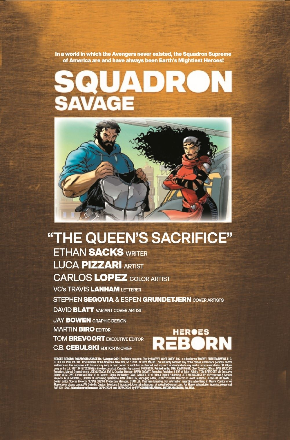 HRSQSAVAGE2021001_Preview-2 ComicList Previews: HEROES REBORN SQUADRON SAVAGE #1