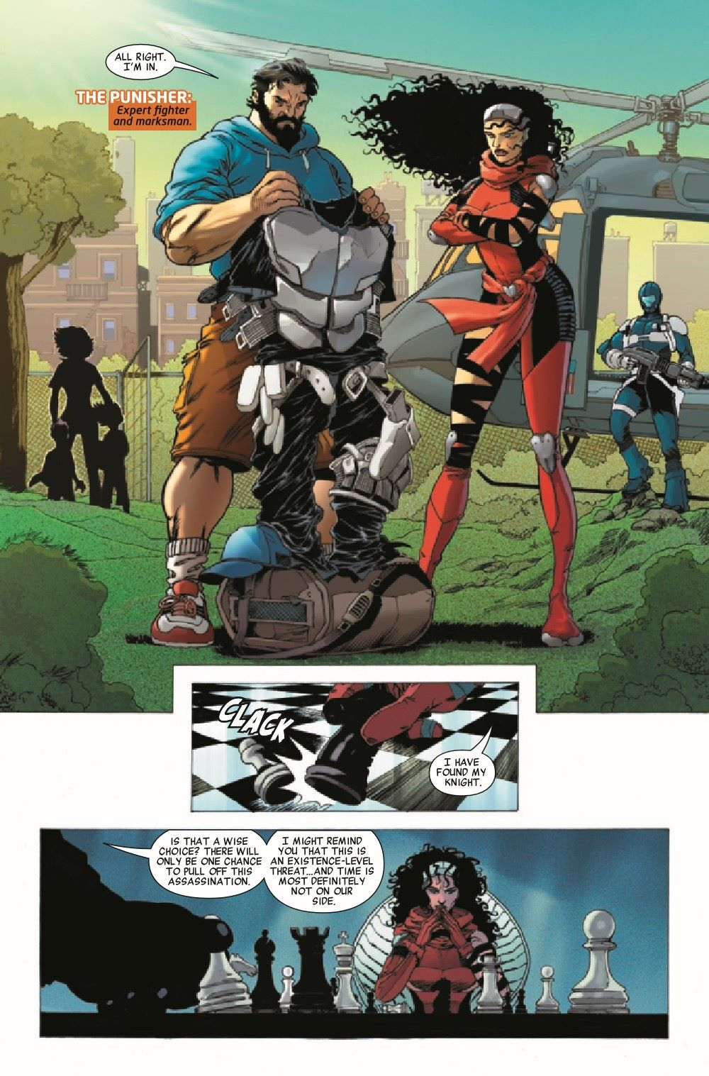 HRSQSAVAGE2021001_Preview-5 ComicList Previews: HEROES REBORN SQUADRON SAVAGE #1