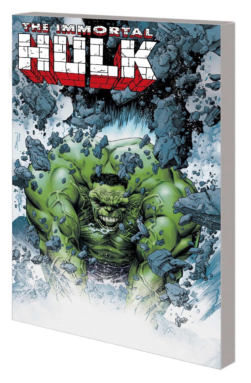 HULK_GREAT_POWER_TPB Marvel Comics September 2021 Solicitations