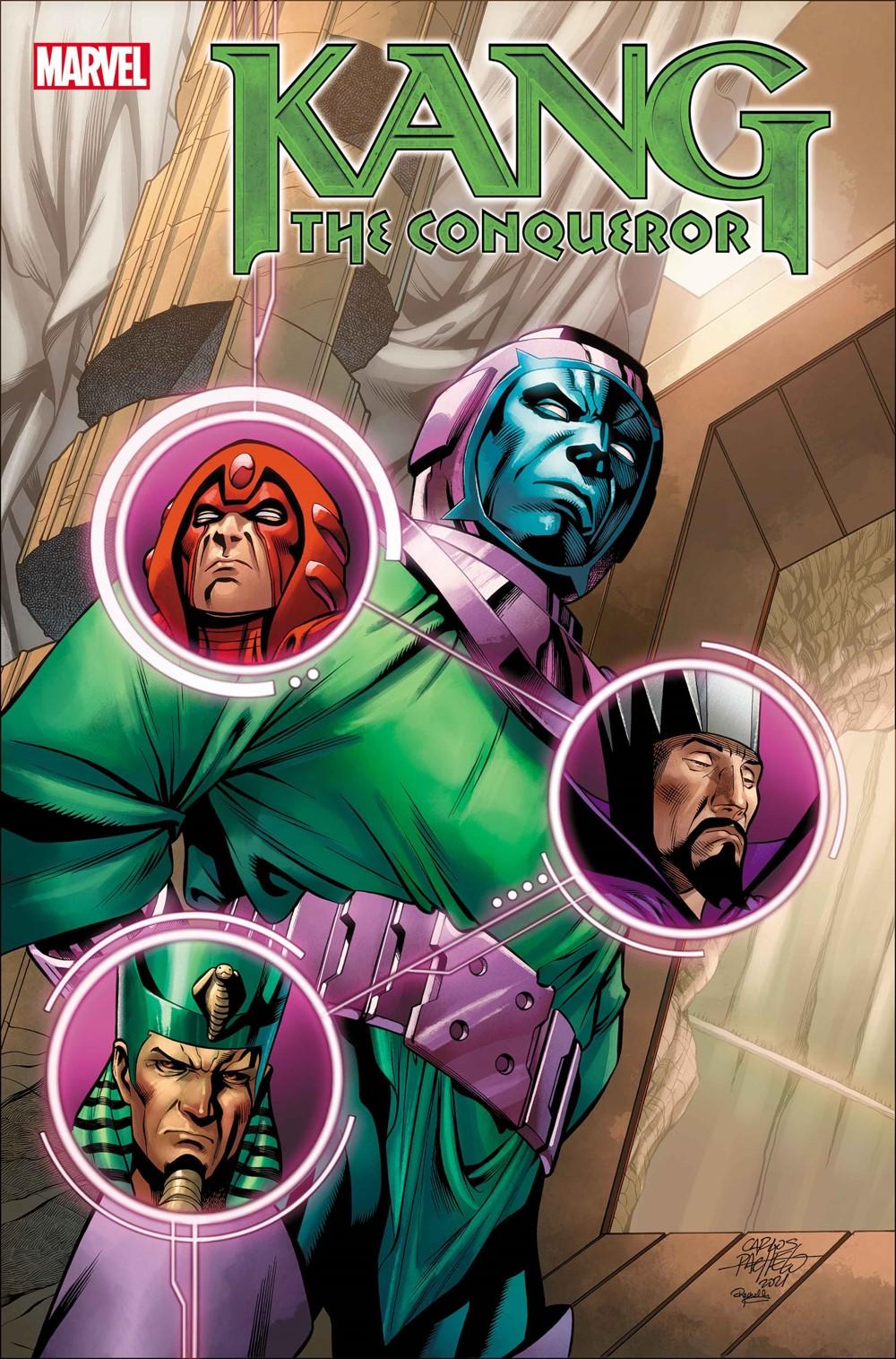 KANGCONQUEROR2021002_Pacheco_Var Marvel Comics September 2021 Solicitations