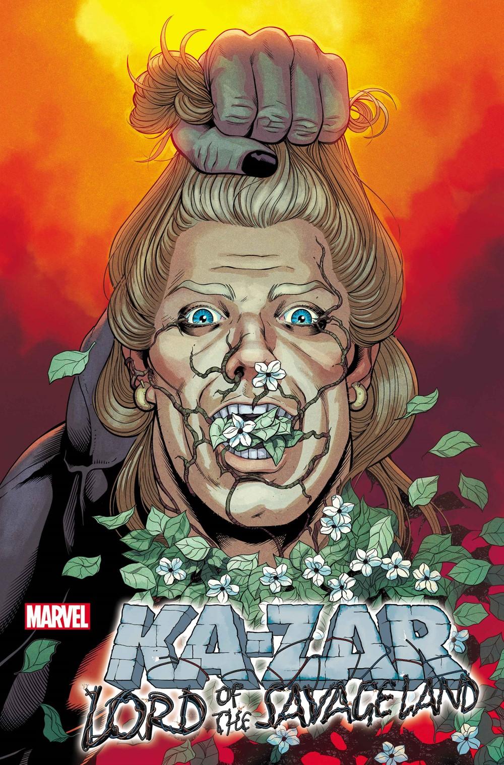 KAZARLORDSAVLAND2021001_var Marvel Comics September 2021 Solicitations