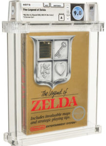 Legend-of-Zelda-9.0-e1624380384616-218x300 Rare Nintendo Games at Auction Border on $100K