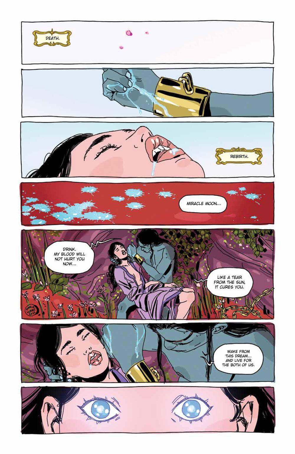 Luna_005_PRESS_3 ComicList Previews: LUNA #5 (OF 5)