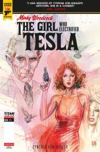 MINKY_WOODCOCK_ARC2_3_COVER_Page_1-197x300 ComicList Previews: MINKY WOODCOCK THE GIRL WHO ELECTRIFIED TESLA #3