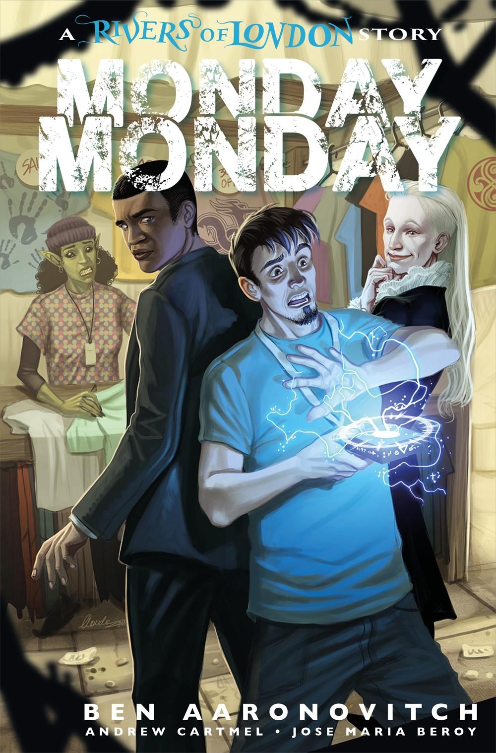 MONDAY-MONDAY-ROL_3C Titan Comics September 2021 Solicitations