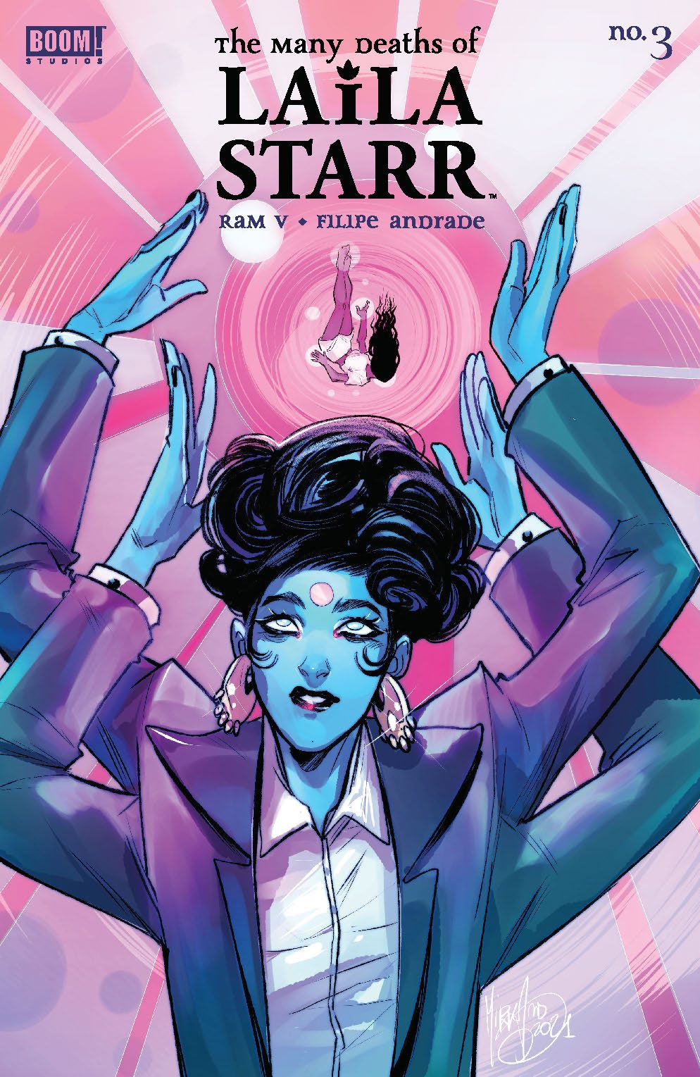 ManyDeathsLailaStarr_003_Cover_C_Variant ComicList Previews: THE MANY DEATHS OF LAILA STARR #3 (OF 5)