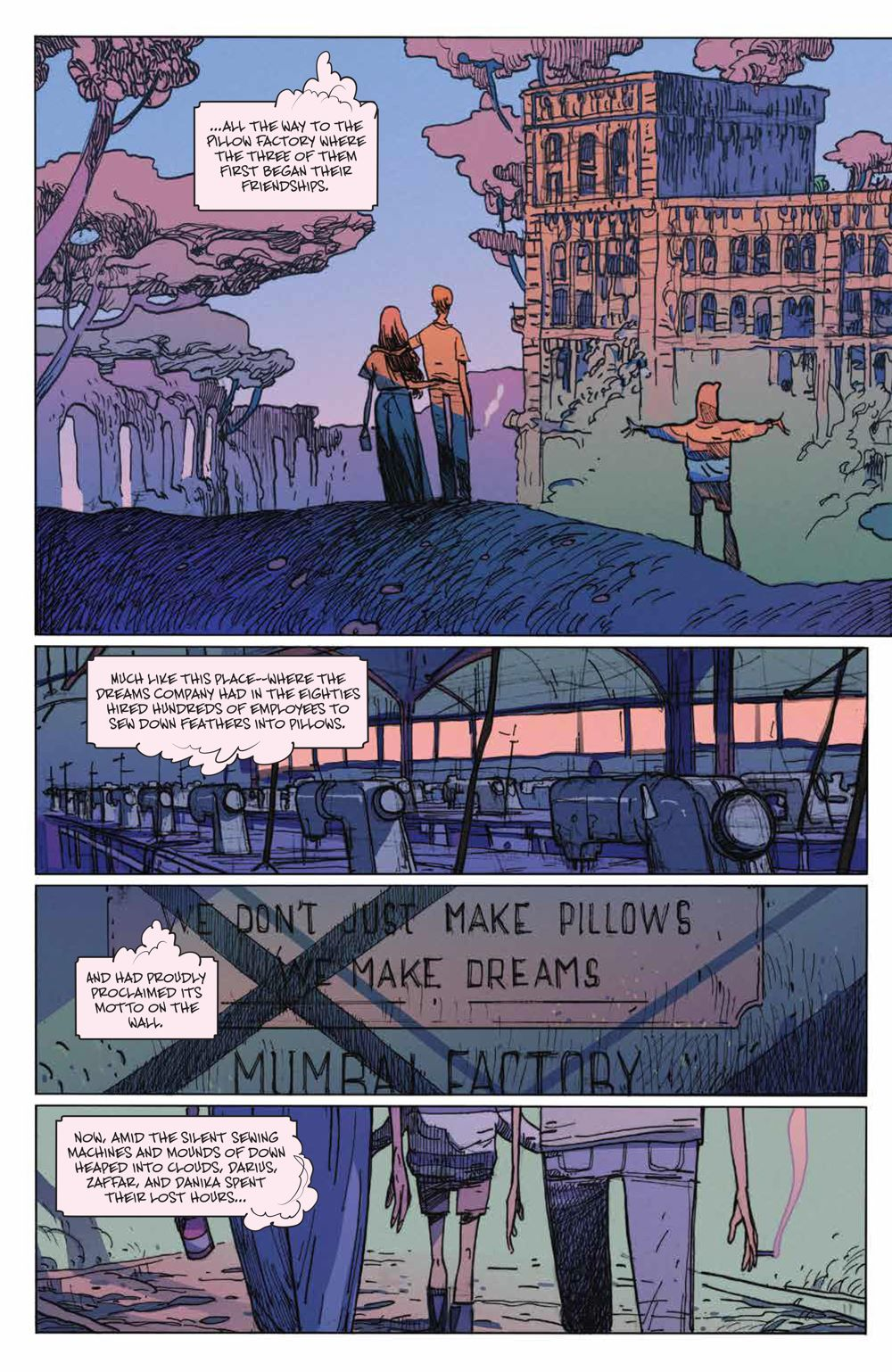 ManyDeathsLailaStarr_003_PRESS_8 ComicList Previews: THE MANY DEATHS OF LAILA STARR #3 (OF 5)