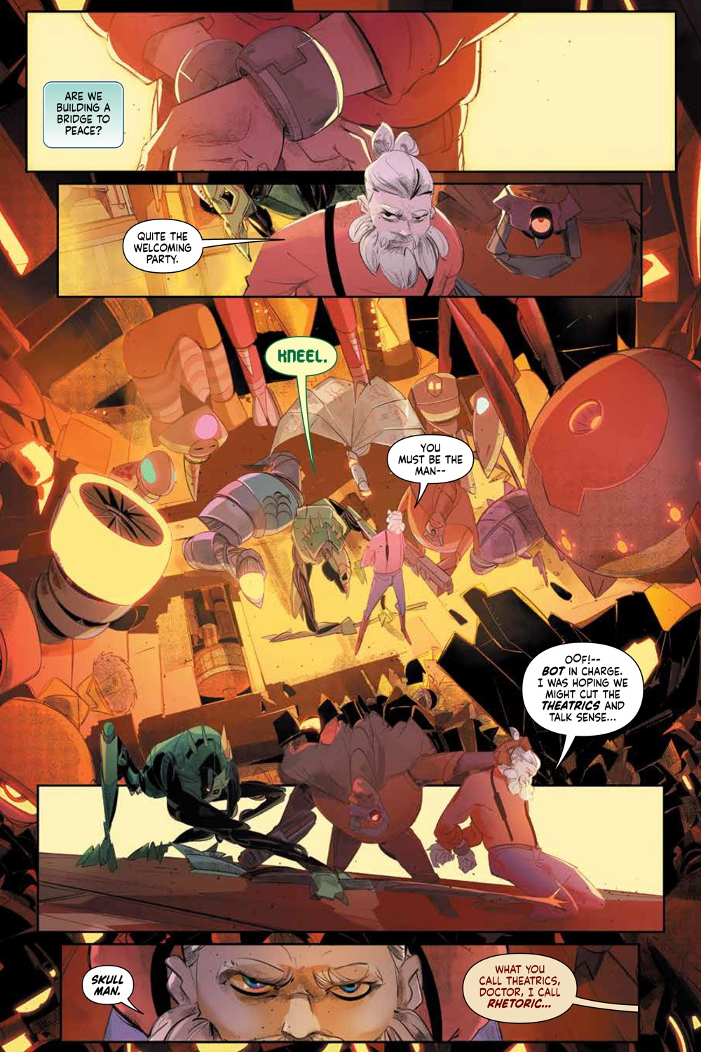 MegaMan_FullyCharged_SC_PRESS_11 ComicList Previews: MEGA MAN FULLY CHARGED TP