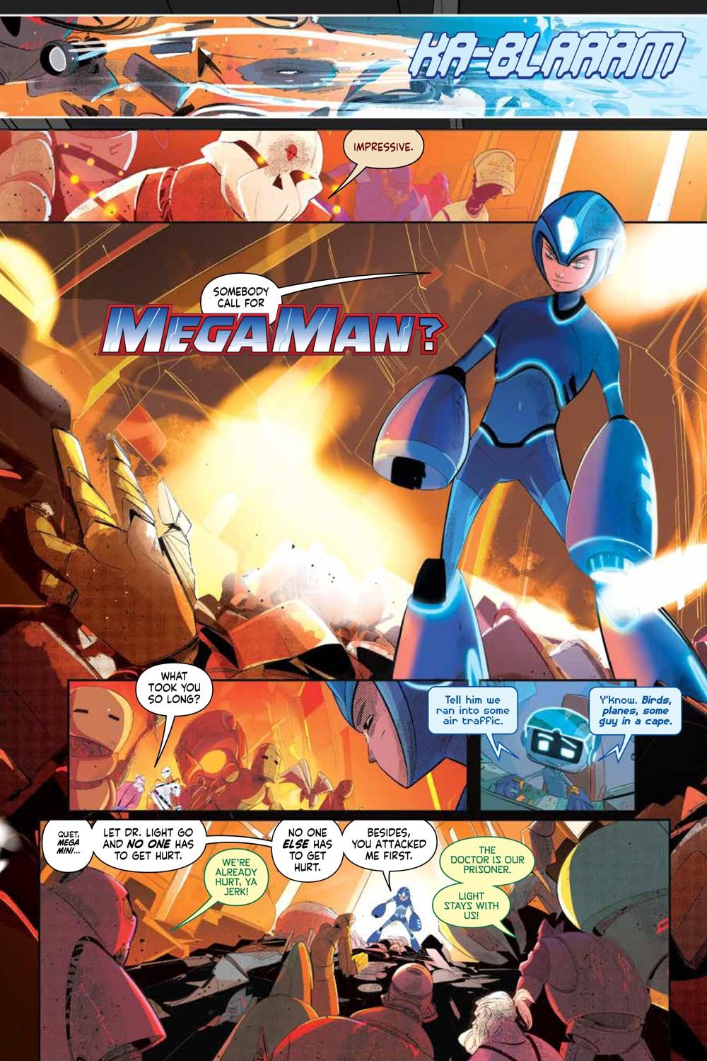 MegaMan_FullyCharged_SC_PRESS_16 ComicList Previews: MEGA MAN FULLY CHARGED TP