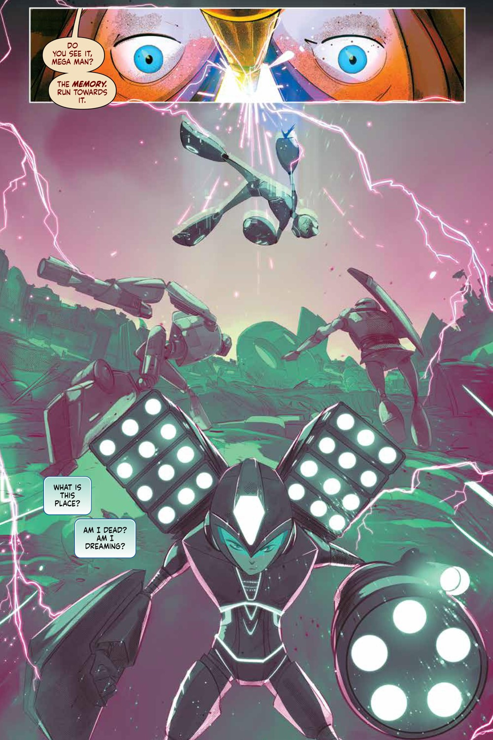 MegaMan_FullyCharged_SC_PRESS_19 ComicList Previews: MEGA MAN FULLY CHARGED TP