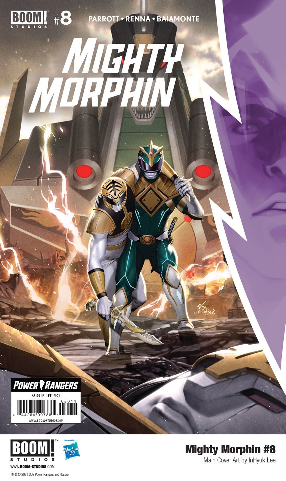 MightyMorphin_008_Cover_Main_PROMO-2 First Look at MIGHTY MORPHIN #8 from BOOM! Studios