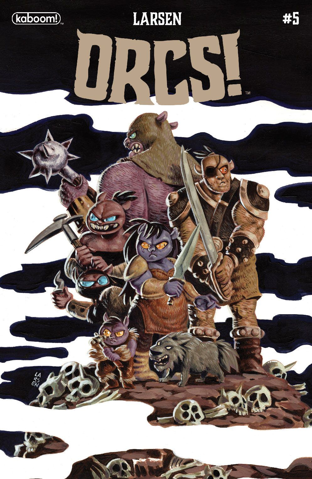 Orcs_005_Cover_A_Main-1 ComicList: BOOM! Studios New Releases for 06/16/2021
