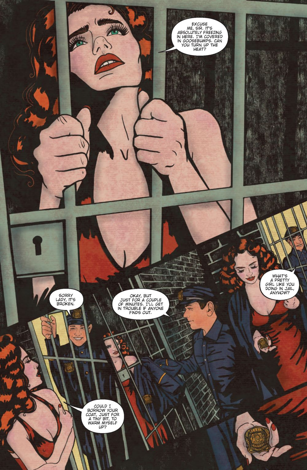 Pages-from-Binder3_Page_1 ComicList Previews: MINKY WOODCOCK THE GIRL WHO ELECTRIFIED TESLA #3