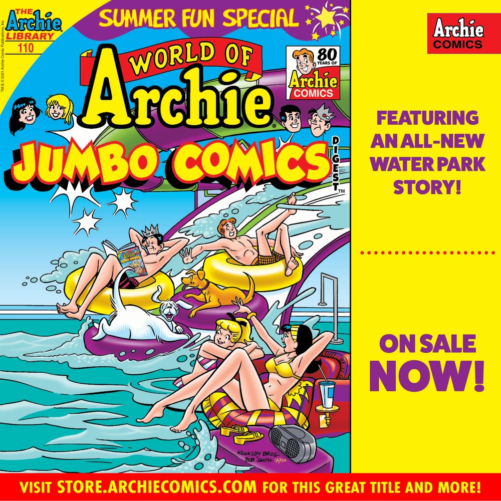 Preorder_Graphic_JUN_2021_OSN_03 ComicList Previews: WORLD OF ARCHIE JUMBO COMICS DIGEST #110