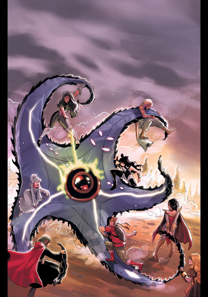 RWBY-JL-06-cvr-Andolfo DC Comics September 2021 Solicitations
