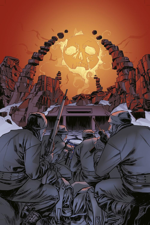 SLAND_i4_FC_FNL Dark Horse Comics September 2021 Solicitations