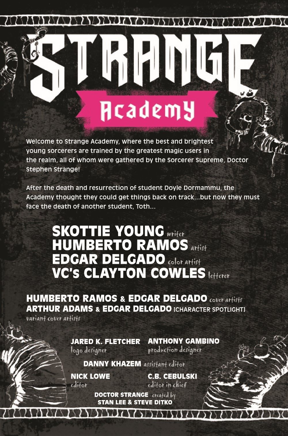 STRACADEMY2020011_Preview-2 ComicList Previews: STRANGE ACADEMY #11