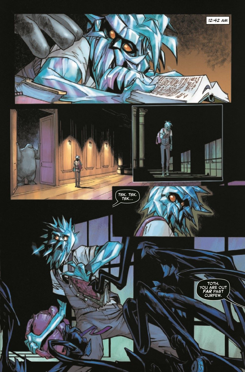 STRACADEMY2020011_Preview-4 ComicList Previews: STRANGE ACADEMY #11