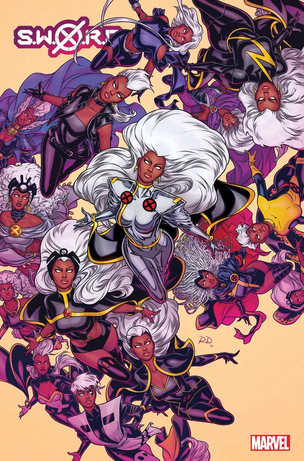 SWORD2020008_Dauterman_var Marvel Comics September 2021 Solicitations